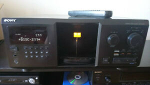 Sony 300 Disc CD Jukebox Player with extras