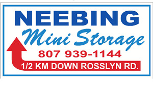 NEEBING MINI STORAGE   807-939-1144     1157 Rosslyn Rd