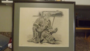 "Patrick Roy Lithograph ""The Goalie"""