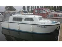 Norman 23 ft cabin cruiser