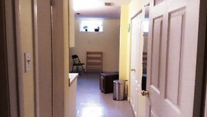 Fantastic partially furnished basement apartment for rent