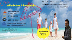 Best Rates for Super Visa, Visitors and Travel Insurance