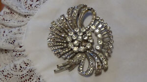 Antique, House of SCHRAGER, SS Broach...SAVE 50% NOW!