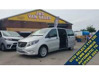 MERCEDES-BENZ VITO MINIBUS MPV 119 BLUETEC TOURER SELECT AUTOMATIC DIESE