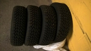 Goodyear Winter Tires (185 / 65 R14 )