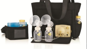 Medela double breast pump all included items