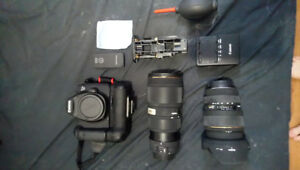 Full frame canon 6D and lenses