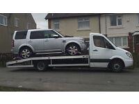 Recovery service van 4x4 car scrap damaged wanted jet ski caravan