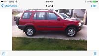 Beautiful Red 2000 Honda CRV AWD
