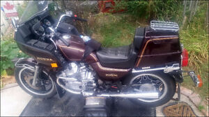 1982 Silver Wing GL 500