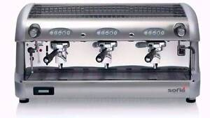 Brand New 3 group Bianchi SOFIA Commercial Coffee Machine Marrickville Marrickville Area Preview