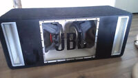 """JBL 12"""" Subwoofer x2 W/ Ported Box PRICE REDUCED"""
