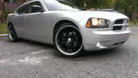 "*** 2008 Dodge Charger SXT *** 22 "" Rims with 7"" DVD player* NEG"