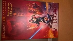 Willow Movie Poster - Matted and hard laminated