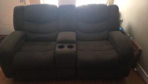 E.U.C Recliner couch.