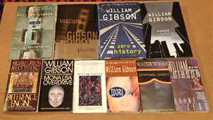 William Gibson - 10 SciFi Novels. Zero History & Spook Country