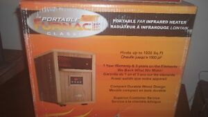 Infared heater, Portable furnace classic