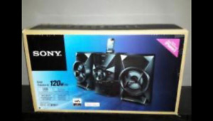SONY DOCK HIFI SYSTEM  MODEL : MHCEC619IPN