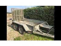 Digger Plant Trailer 2t (Indespension) - PERFECT CONDITION