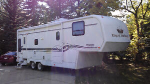 30ft King of the Road 5th Wheel