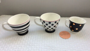 Coffee/Latte Mugs & Tea Cup (Indigo) - 3 for only $5  **NEW**