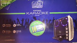 KARAOKE SYSTEM WITH PARTY DISCO LIGHTS ($239)