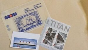 Titanic stamps West Island Greater Montréal image 1