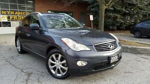 2009 Infiniti EX35,AWD,Leather,SunRoof,BackUpCam,Navi, CERTIFIED