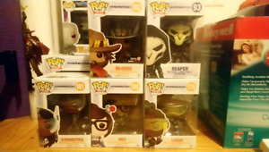 Overwatch Funko Pop Figures