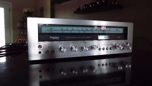 Technics sa-5160 Tested works perfect new lamps also Vintage