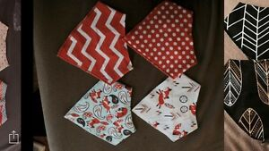Bandana teething bibs