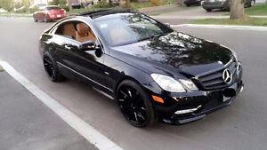 2012 Mercedes-Benz E-Class AMG Sports Coupe (2 door)