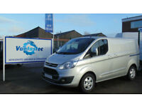 Ford Transit Custom Van 2.0TDCi 130PS L1 H1 Limited With Polyshield