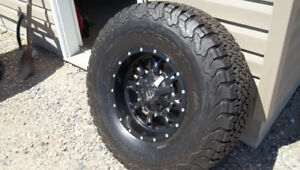 NEW FUEL RIMS WITH BFG KO2s