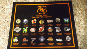 Mid 80's NHL Collector Pin set.