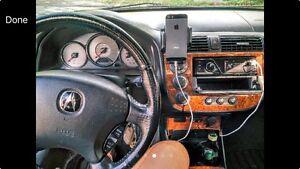 2004 Acura EL (Black / Black Leather Interior)