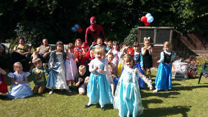 Last Minute Weekend Special! Superhero And Princess Party!