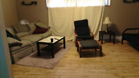 2 bedrooms basement suite available Sep 1 - Glenbrook SW
