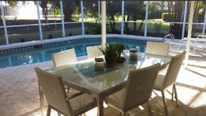 Beautiful 4/3  Pool Home in Gated Community North Naples Florida