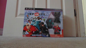 Disney Infinity Starter Pack for PS3 - (Rarely Used)