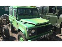 1994 Land Rover Defender 90 County Station Wagon, *Damaged*