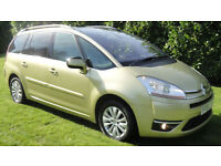 Citroen Grand C4 Picasso 1.6HDi 16v EGS Exclusive 7 SEATER DIESEL AUTOMATIC