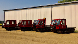 Track Vehicles for rent