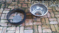 Ceramic Fire Box and Fire Ring for Large Big Green Egg