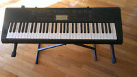 Casio Keyboard CTX-3200 with stand for Sale