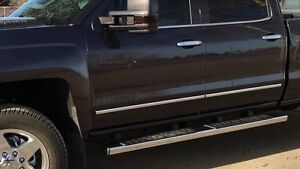 2015 Duramax factory chrome running boards