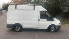 2003 FORD TRANSIT 2.0 TD 280 SWB MEDIUM ROOF ROOF RACK FULL MOT LOW 88K PX SWAPS