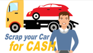 Cash paid for your scrap vehicles