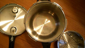 new stainless steel pressure cooker Kitchener / Waterloo Kitchener Area image 5