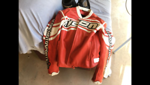 Motorcycle gear, memorabilia